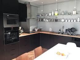 cuisine ikea sur mesure oser la couleur placard sur mesure cuisine ikea et plafond