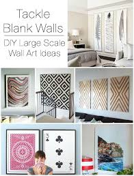 Cheap Wall Decorations For Living Room by Large Wall Decorating Ideas Pictures Alluring Decor Inspiration