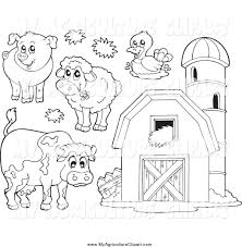 royalty free stock agriculture designs of printable coloring pages