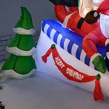 Large Inflatable Christmas Decorations Uk by Werchristmas 150 Cm Large Pre Lit