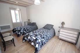 chambre 2 lits gite handicapé vendée