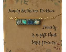 birthstone gift family birthstone jewelry mothers day gift mothers day