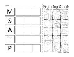 scarecrow letter sound sort m s a p t only 1 for the center