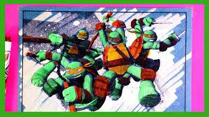 teenage mutant ninja turtles coloring pages 07