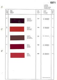 Blood Red Color Code Help With Karmann Id Tag For 914 6 Page 2 Pelican Parts