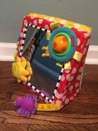 sassy crib floor mirror infant development activity toy unisex