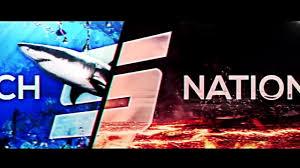fire and water u0027 sketch nation youtube banner speedart youtube