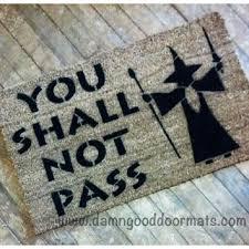 Geek Doormat Natty Boh Home Baltimore Doormat From Damngooddoormats On Etsy