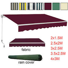 Patio Awning Replacement Covers Garden Awning Patio Sun Shade Canopy Shelter With Replacement