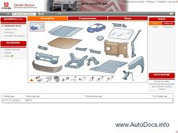citroen spare parts catalog repair manual service manual citroen