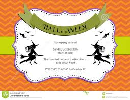 halloween party invitation dark orange chevron background with