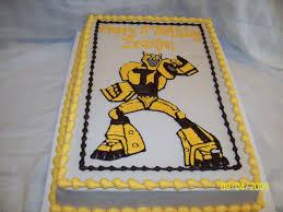 transformers birthday cakes transformers bumblebee transformers birthday