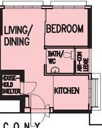 2 Bedroom Flat Floor Plan Hdb 2 Room Bto 38 Sqm House Layout Ideas Pinterest Room