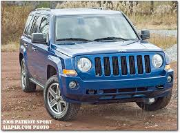 gas mileage for jeep 2009 jeep patriot test drive