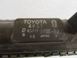 used lexus gs400 parts 98 05 lexus gs300 gs400 engine cooling radiator oem 422171 6950