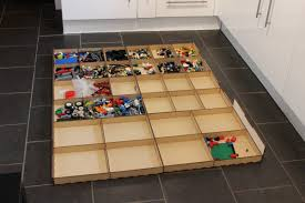 Play Table With Storage by Lack Table With Lego Storage Drawers Ikea Hackers Ikea Hackers