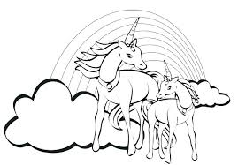 coloring pages of unicorns and fairies unicorn color pages free unicorn coloring pages and free unicorn