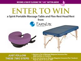table upholstery for massage therapists massage therapists win an earthlite massage table package massage