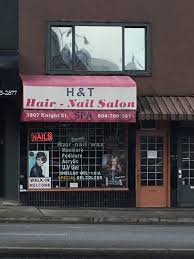 h u0026 t hair nail salon opening hours 3907 knight st vancouver bc
