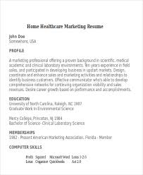 Marketing Resumes Marketing Resume This Free Sample Was Provided By