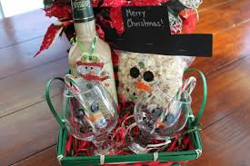 christmas gift basket ideas snowman themed gift baskets