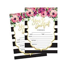wedding shower invites 50 fill in invitations wedding invitations bridal