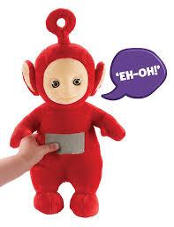 amazon teletubbies 26cm talking po soft plush toy