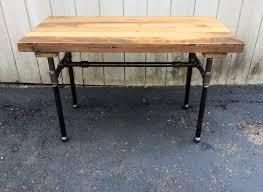 Reclaimed Wood Bar Table The Butchers Choice Reclaimed Wood Bar Table Butcher Block