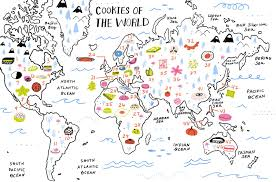 Norway On World Map by 46 Cookie Recipes From All Over The World