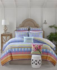 Sofia Bedding Set Echo Sofia Cotton 3 Pc Comforter Set Comforters