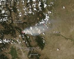 Wildfires In Colorado by Hayden Pass Fire In Colorado Continues To Grow Nasa