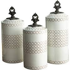 Ceramic Kitchen Canisters Sets by Rustic Kitchen Canister Set Detrit Us