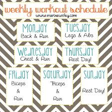 fit wifey u2013 building a workout schedule the life and times of a