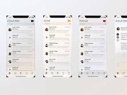 ios 12 mail app concept for sketch designermill