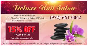 coupon deluxe nail salon nail salon in dallas nail salon