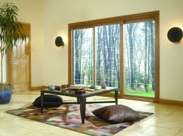 Wood Sliding Glass Patio Doors Decoration Panel Sliding Glass Patio Doors With Panel Sliding