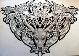 34 best celtic warrior drawings images on