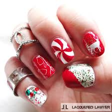 red festive christmas nail art pictures photos and images for