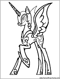 pony coloring pictures my little pony coloring pages nightmare moon