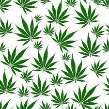 White Flag With Green Leaves Marijuana Leaf Seamless Background U2014 Stock Photo Karenr 12407824