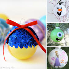 15 fabulous diy disney inspired ornaments to bring some magic to