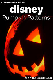 Halloween Carving Stencils Printable Free by Over 100 Free Disney Pumpkin Stencils Queen Of Free