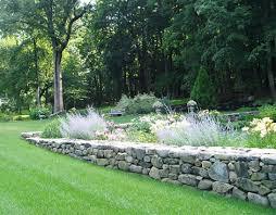 Garden Rock Wall In The Garden Portfolio