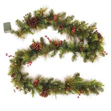 artificial garland wreaths garlands target