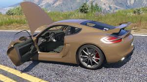 porsche cayman orange porsche cayman gt4 2016 tuning gta5 mods com
