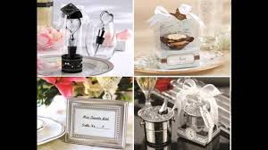 simple wedding party favor ideas youtube