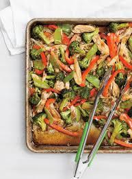 cuisiner du poulet poulet asiatique sur une plaque ricardo