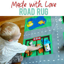 made with love road rug