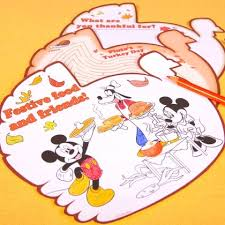 mickey friends thanksgiving day activity pages disney family