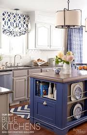 blue kitchen decorating ideas blue kitchen